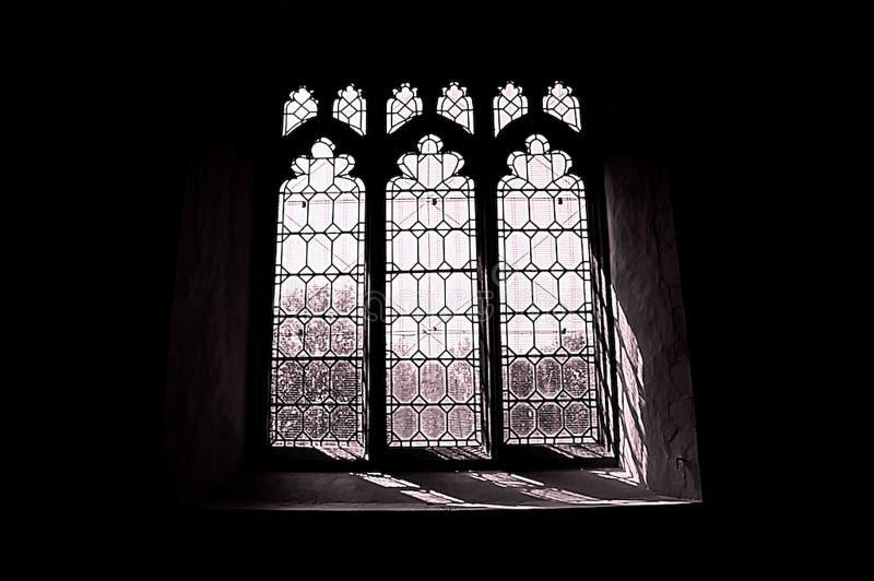 a1教会视窗 库存图片
