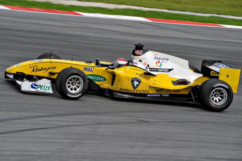 A1 GP RACE CAR stock photos