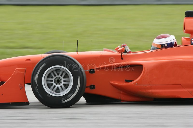 A1 Grand Prix. Motorsport racing royalty free stock images