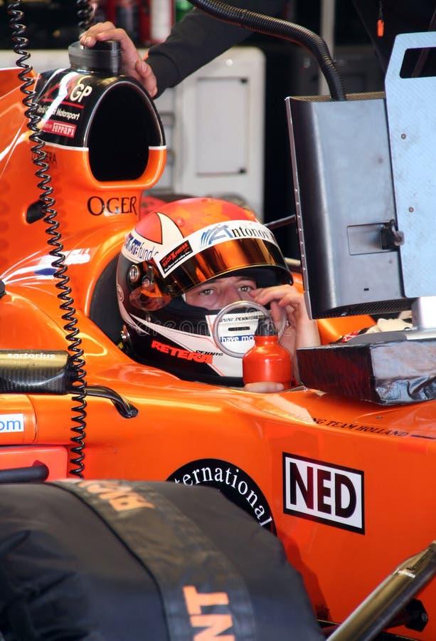 A1 Grand Prix Pilot stock images