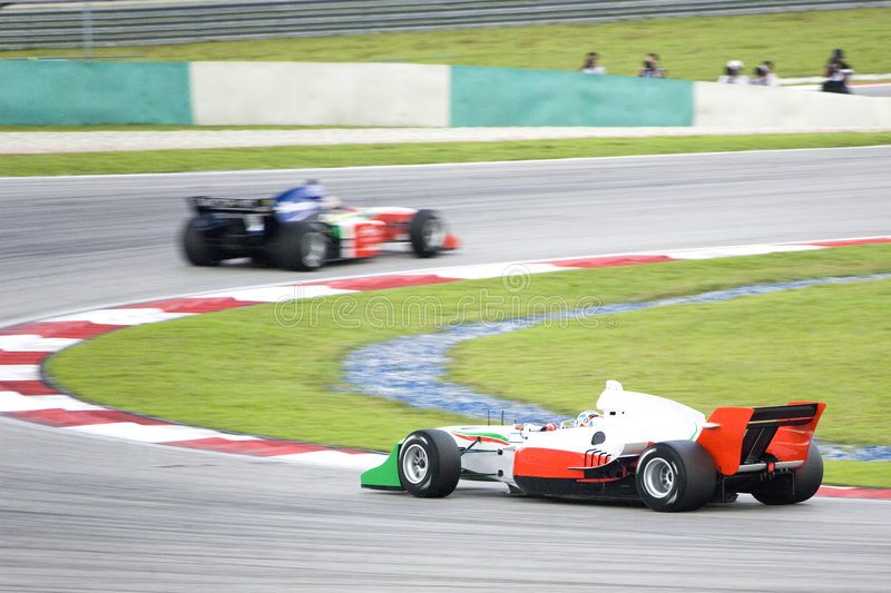 A1 Grand Prix Racing royalty free stock image