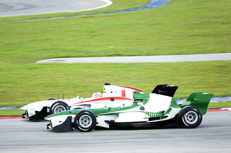 A1 Grand Prix Racing stock photography