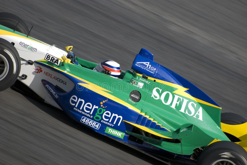 A1 Grand Prix Team Brazil royalty free stock photography
