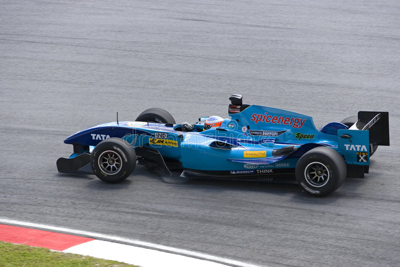 A1GP - Team India stock images