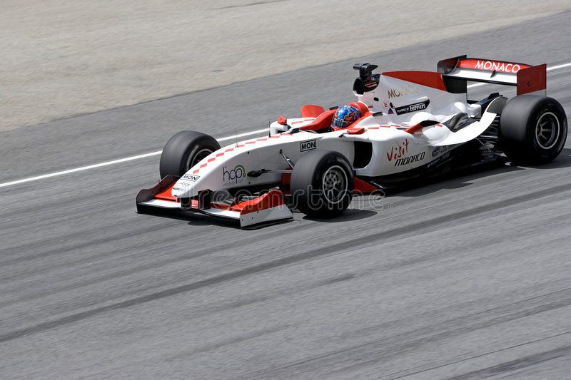 A1GP - Team Monaco royalty free stock images