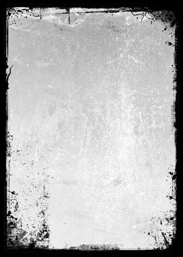 A3 Splattered Hintergrund stock abbildung