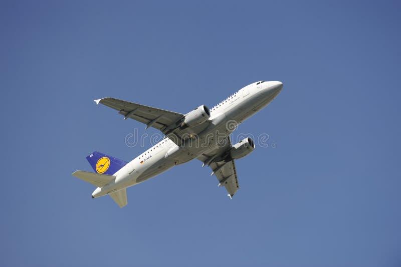 a319 samolot Airbus zdjęcie stock