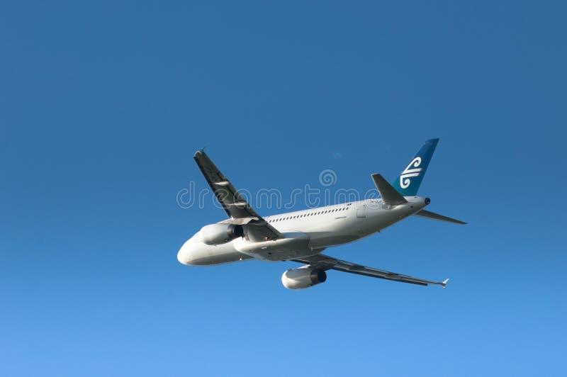 a320 Air New Zealand 免版税库存照片
