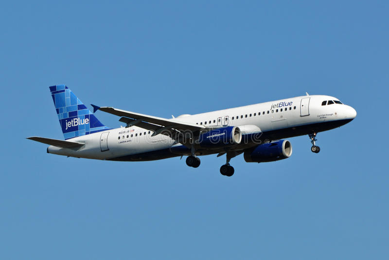 A320 Jetblue着陆 编辑类图片