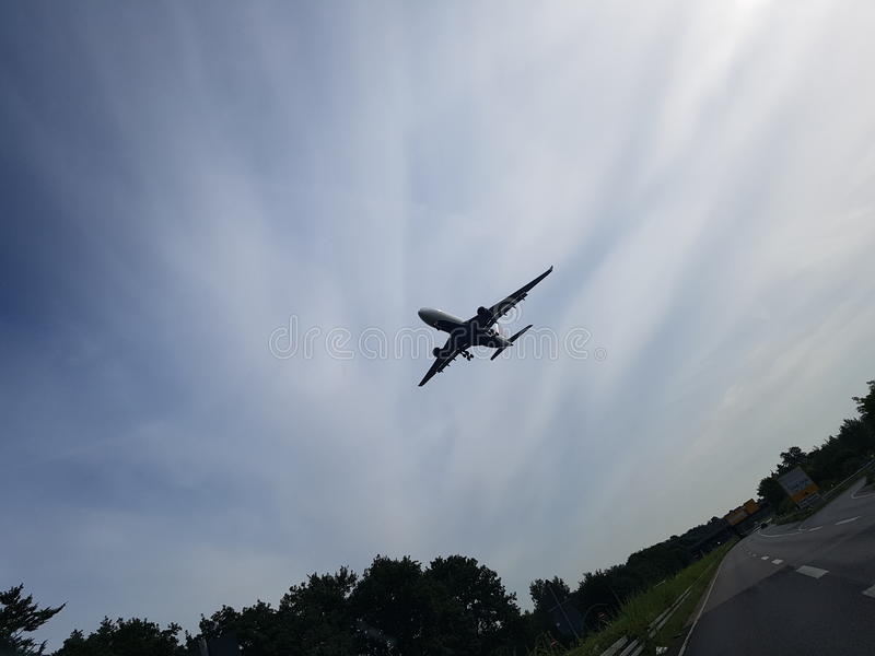 A321 royalty-vrije stock fotografie