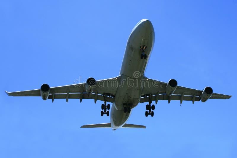 a340 Airbus odrzutowiec zdjęcie stock