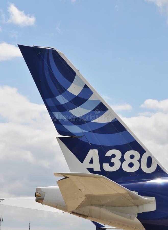 a380空中巴士 图库摄影