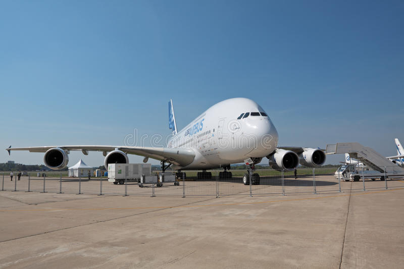 Download A380 editorial stock image. Image of large, european - 20863249