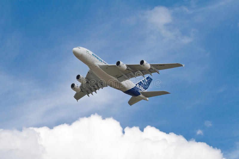 Download A380 editorial stock image. Image of farnborough, europe - 24459779