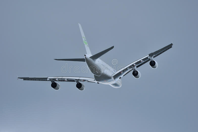 A380 Airbus Fotografia Royalty Free