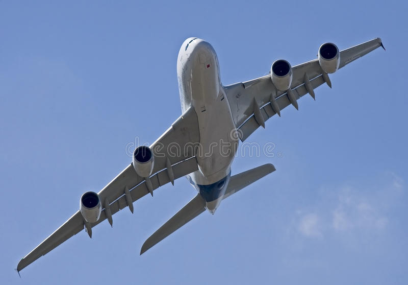 Download A380 in Moscow 2 stock photo. Image of cooperation, stream - 21710334