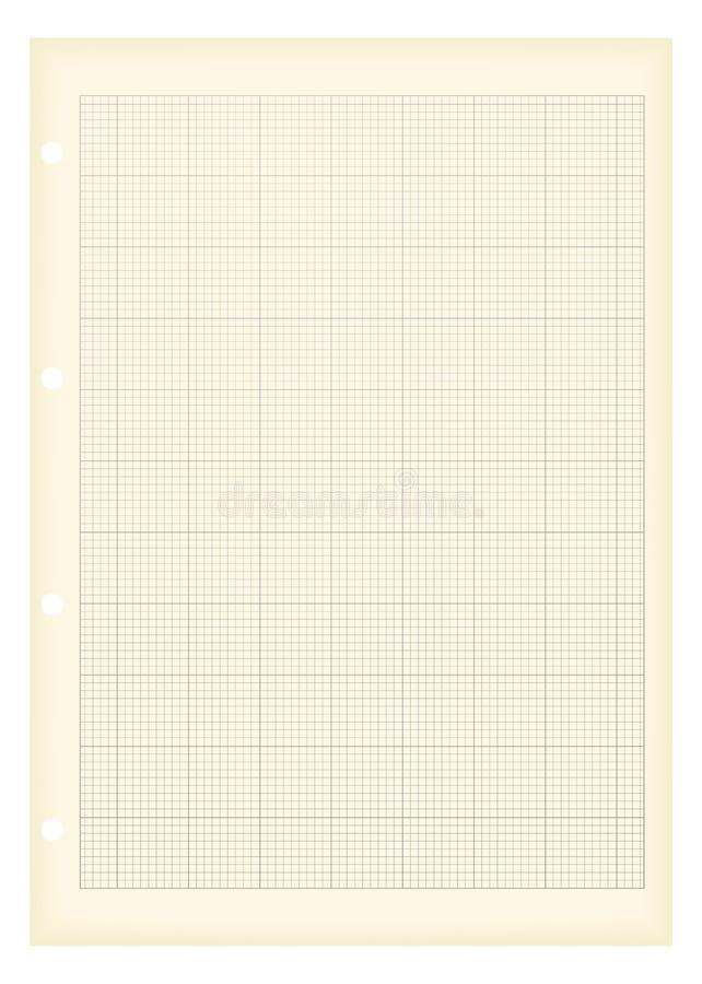 a4图形grunge纸张 皇族释放例证