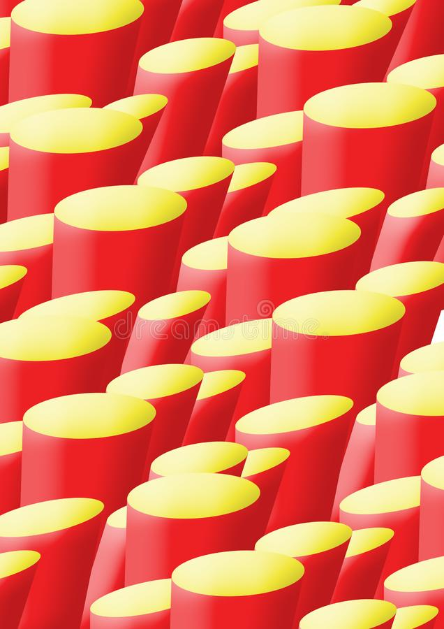 Download A4 Background Red And Yellow Stone Bases Stock Photo - Image: 4257664