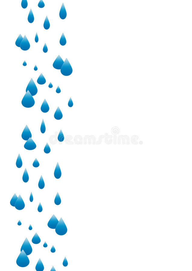 Download A4 Rain Composition stock illustration. Image of page - 5806363