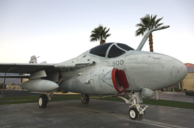 A6 intruso, museu do ar de Palm Spring imagem de stock royalty free