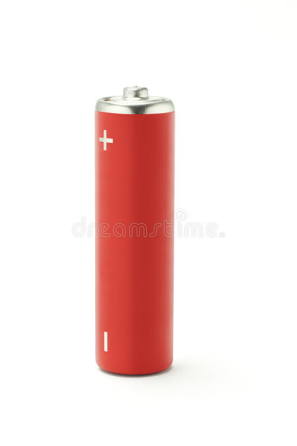aa电池范围 图库摄影