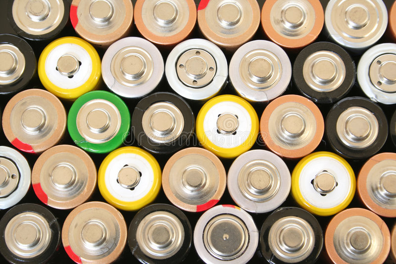 Download AA batteries stock image. Image of rechargeable, volt - 1965093