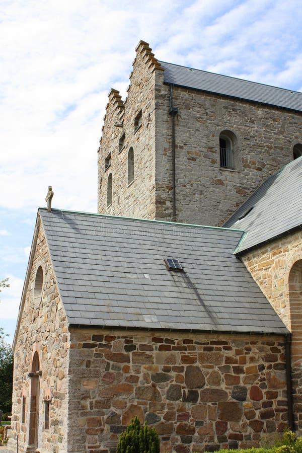 Aa-kyrka Bornholm royaltyfri foto