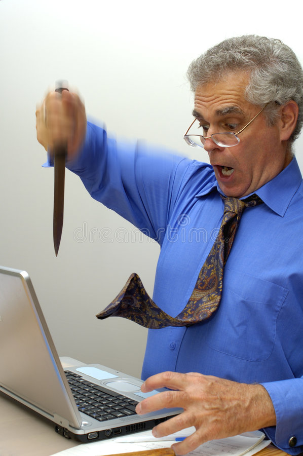 Download Aaaaaagh! stock image. Image of annoy, office, fury, desk - 1464579
