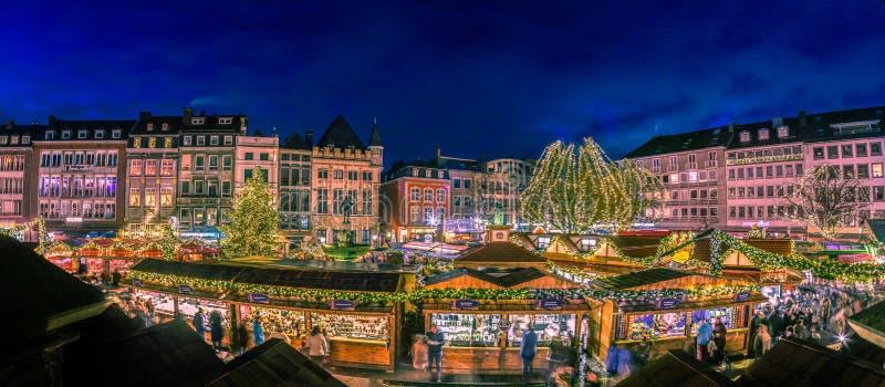 Aachen bożych narodzeń wioska