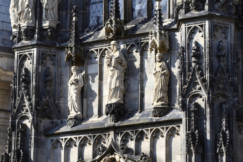 Download Aachen Cathedral Detail, Germany Royalty Free Stock Images - Image: 24362019