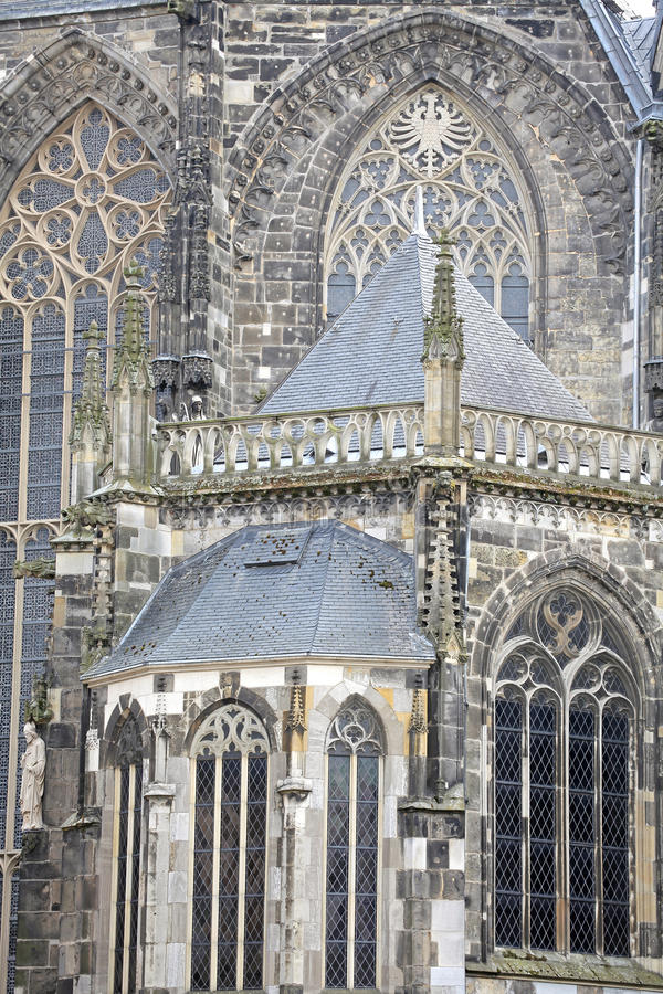 Aachen cathedral, Germany royalty free stock image
