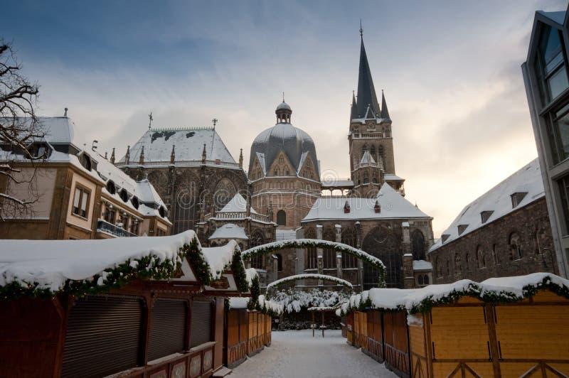 aachen katedra fotografia stock