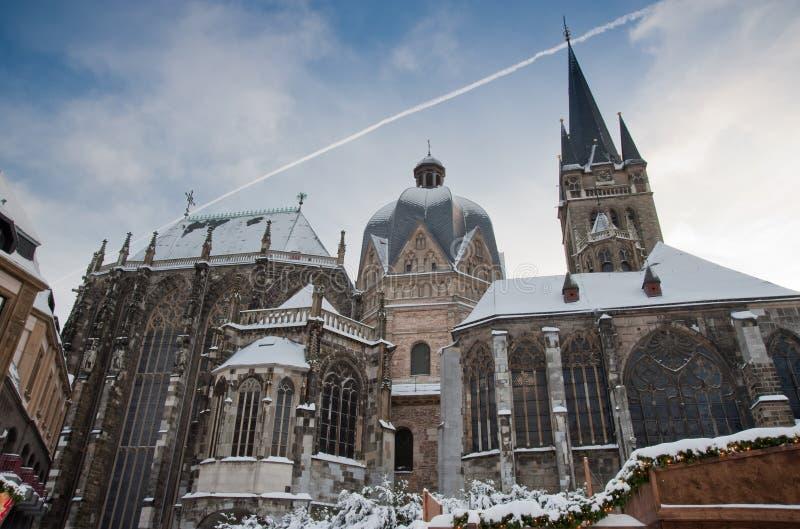 aachen katedra zdjęcie royalty free