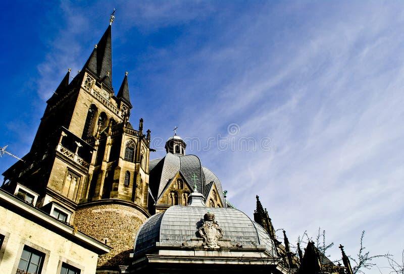 Aachener Dom 免版税图库摄影
