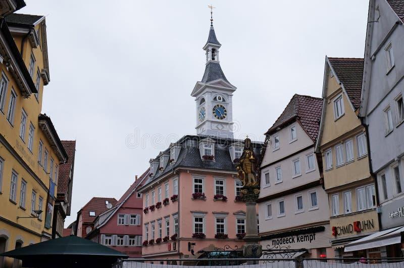 Aalen Tyskland royaltyfri foto