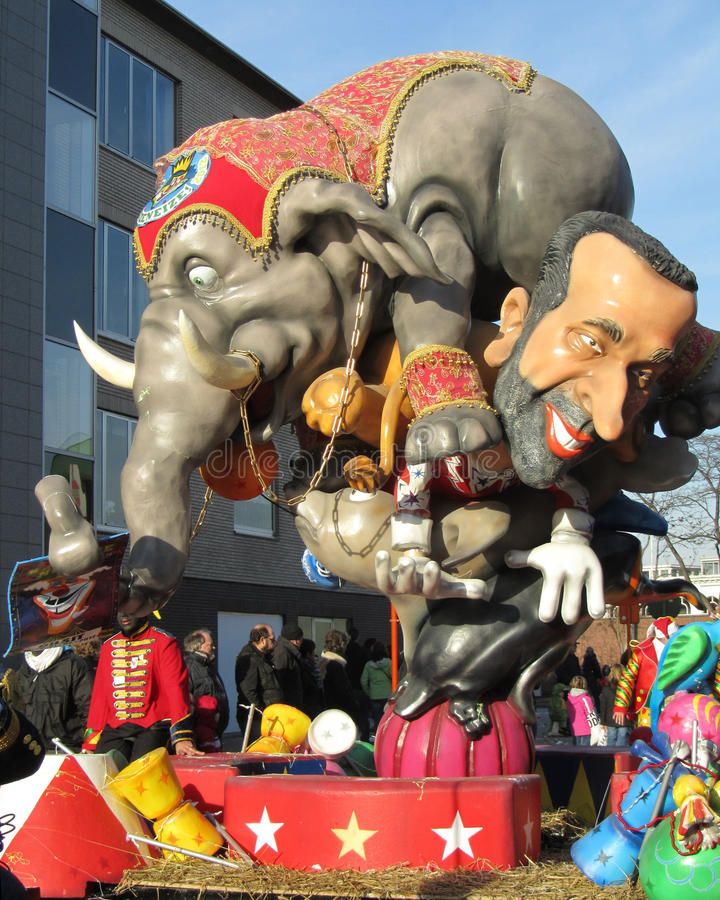 Aalst καρναβάλι 2012 στοκ φωτογραφίες