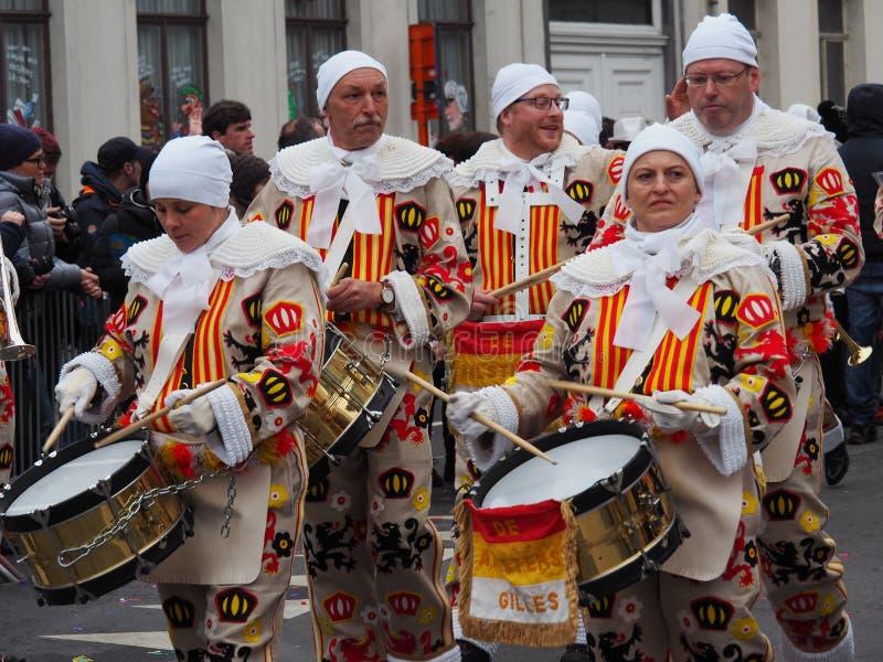 Aalst Carnaval 2017 стоковое фото