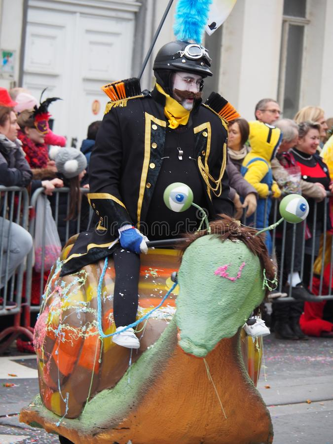 Aalst Carnaval 2017 obrazy royalty free