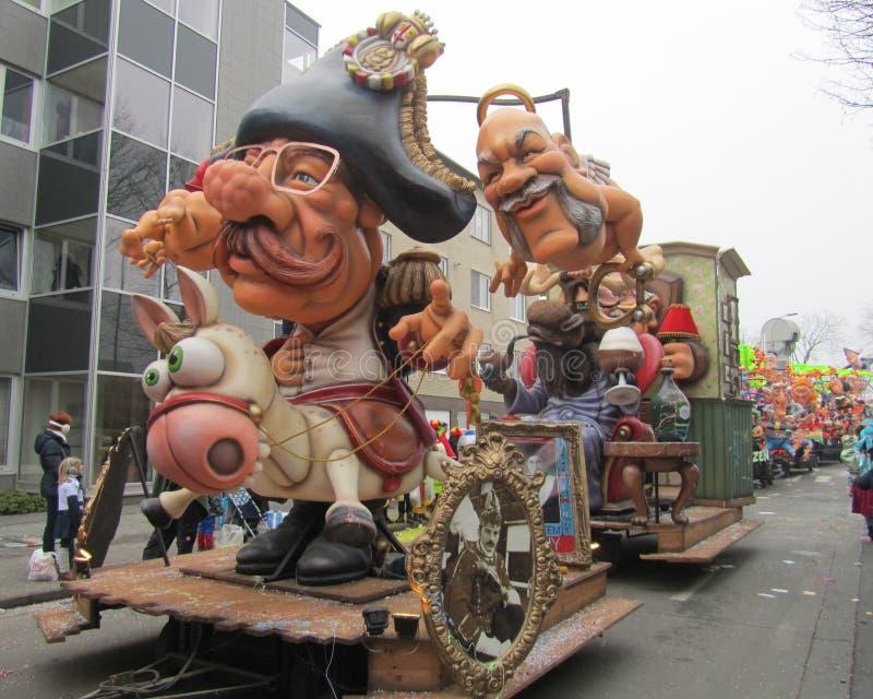 Aalst karneval 2015 arkivbild