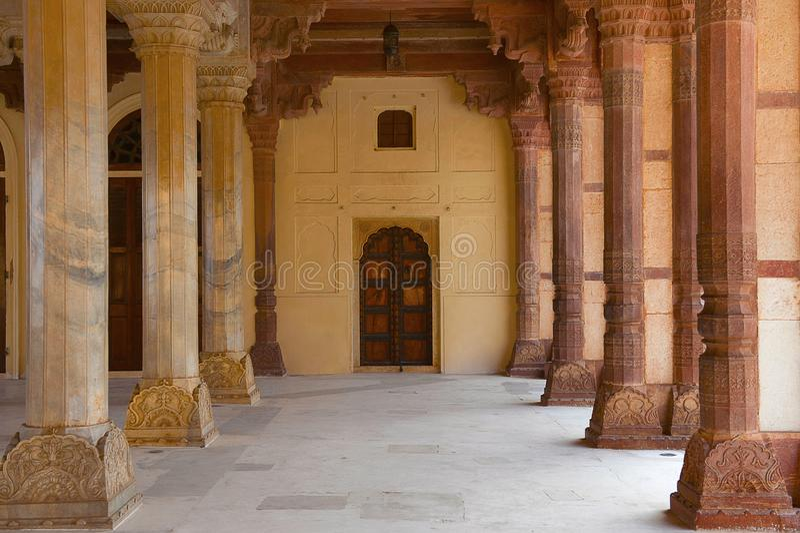 Aam, Hall Jawna widownia, Amer fort, Rajasthan obraz royalty free