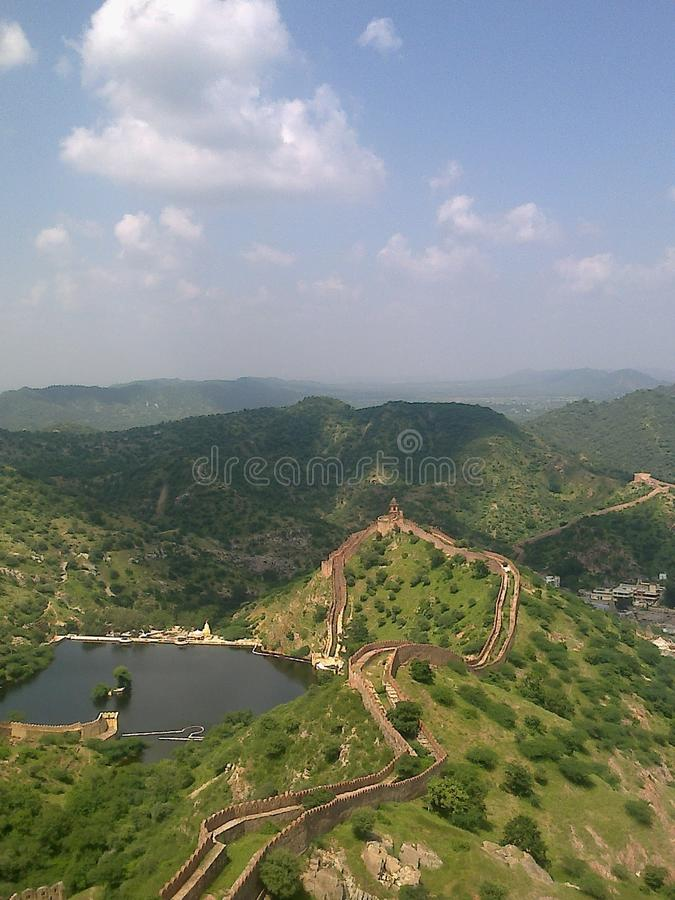 Aamer fort royalty free stock image