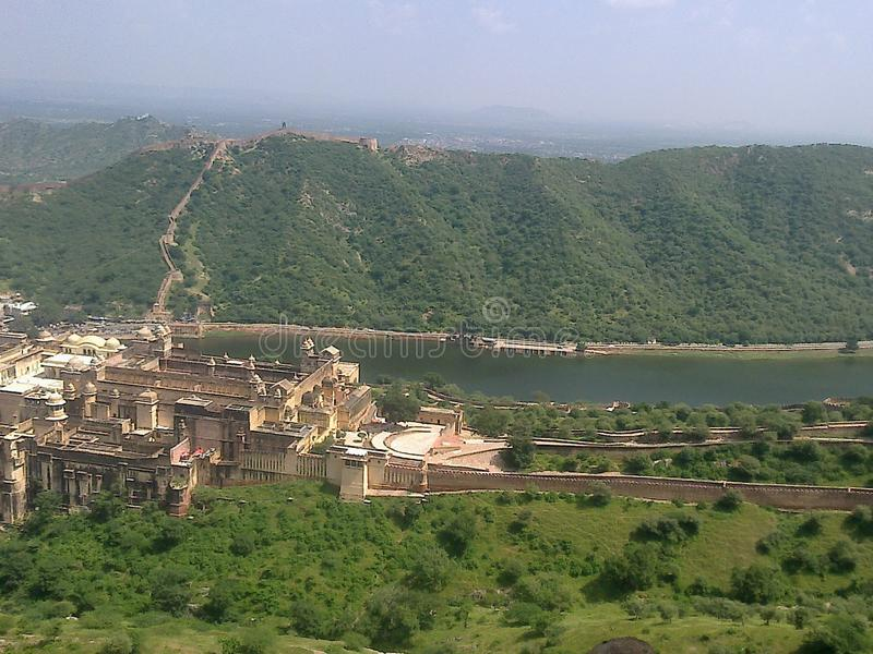 Aamer fort royalty free stock images