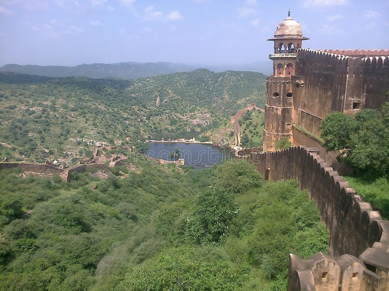 Aamer fort royalty free stock photography