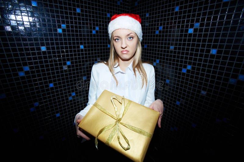 Aan gift wil? royalty-vrije stock afbeelding