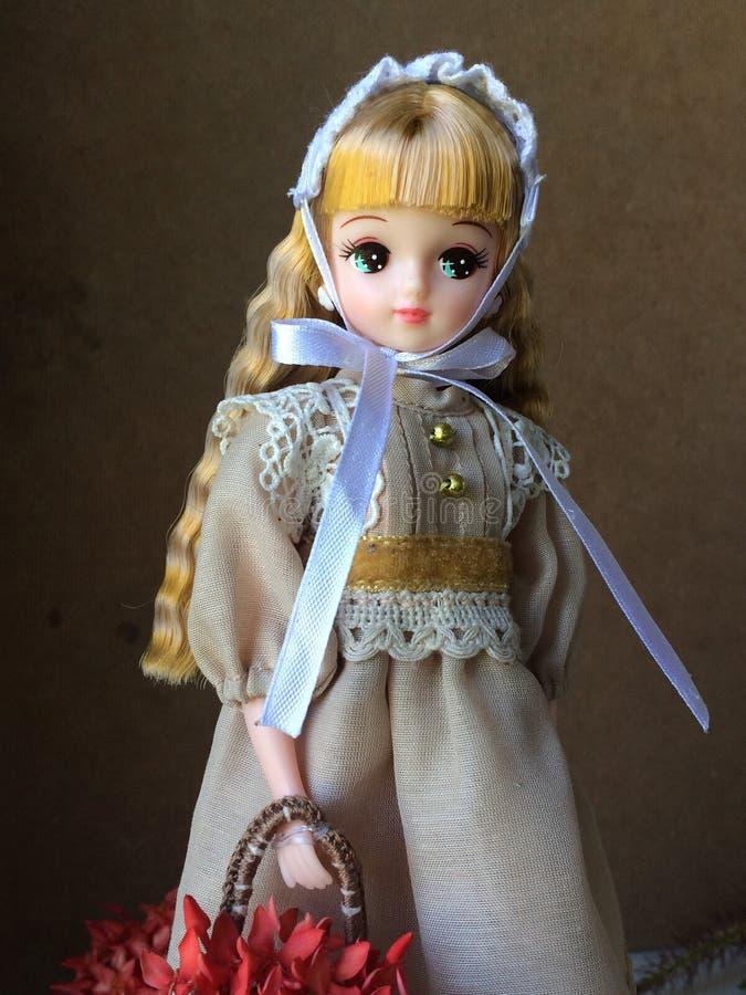 Aanbiddelijke Japanse pop genoemd kira-Chan, Licca's-vriend royalty-vrije stock foto