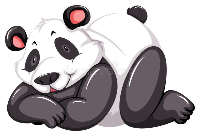 Aanbiddelijke panda royalty-vrije illustratie