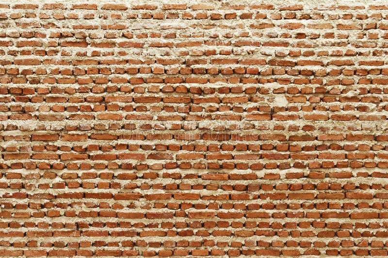 In aanbouw muur stock afbeelding