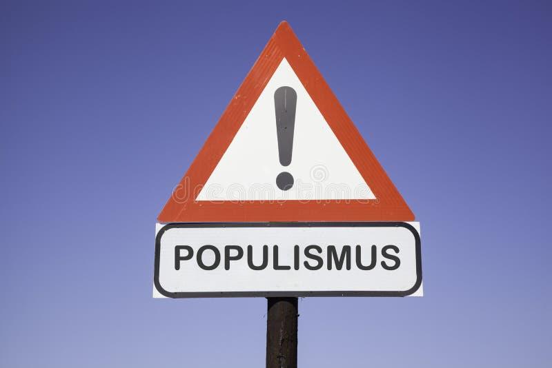 Aandacht Populismus stock afbeeldingen