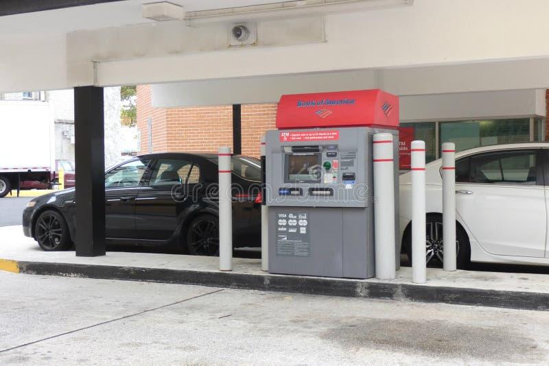 Aandrijving-op ATM stock foto