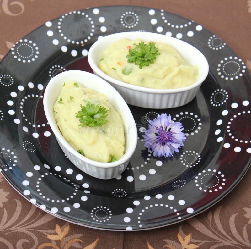 Aangepaste aardappels stock foto's